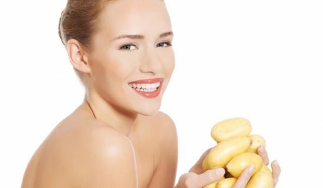 Маски с картофелем