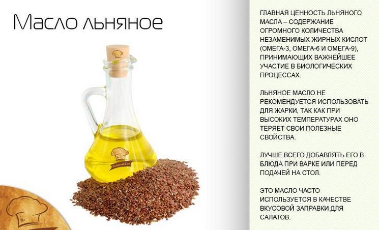 Льняное масло для похудения и очищения организма
