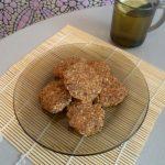 Миндальное печенье сыроедное