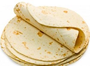 Кесадилья - мексиканская лепешка с сырной начинкой