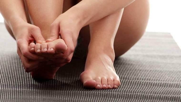 Костоxка на ноге