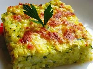 Запеканка из кабачков - как приготовить овощную запеканку