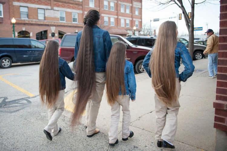 Как отрастить длинные волосы ребенку