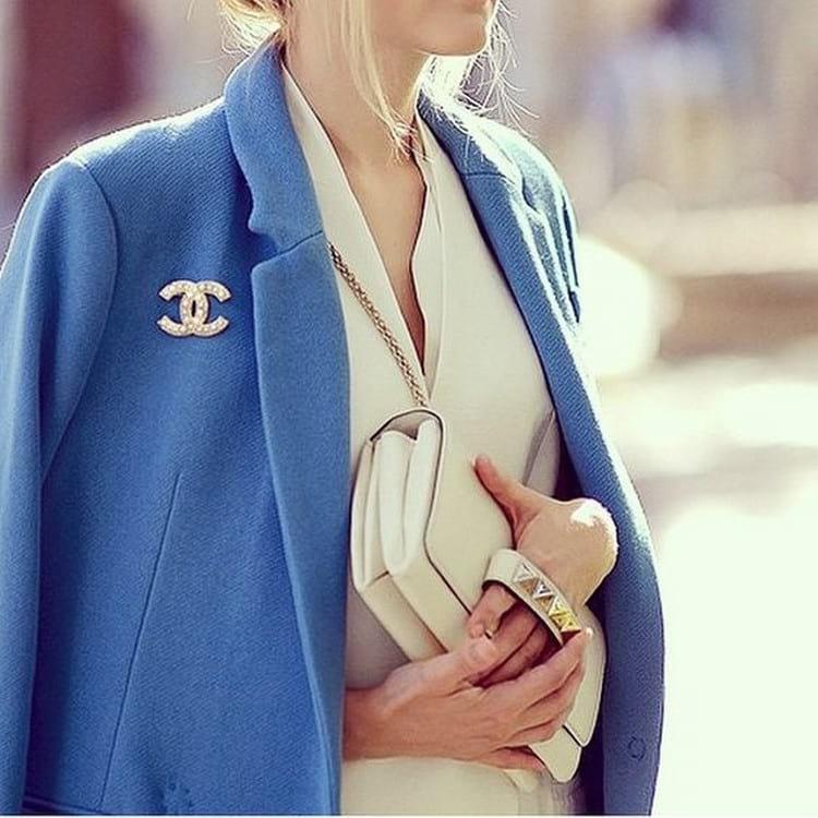 как правильно носить брошь
