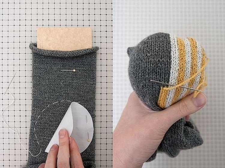 Как зашить маленькую дырочку