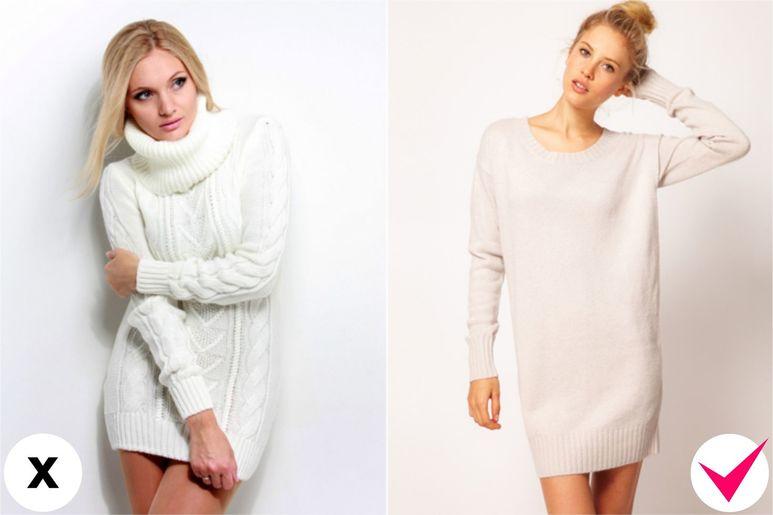 Шерстяное платье: как правильно подобрать наряд
