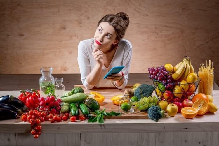 Сколько калорий употреблять в день, чтобы похудеть женщине после 30 и 40 лет