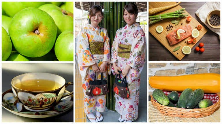 Японская диета на 7 дней популярная недельная диета для