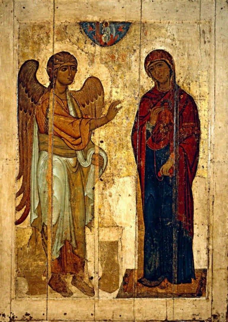 Благовещенье Пресвятой Богородицы в страстную субботу - что это значит?