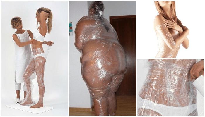 Холодные и горячие обертывания для похудения в домашних условиях