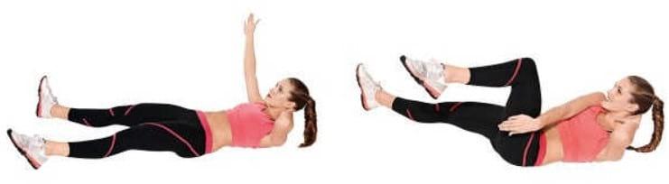 6 эффективных упражнений для проблемных зон