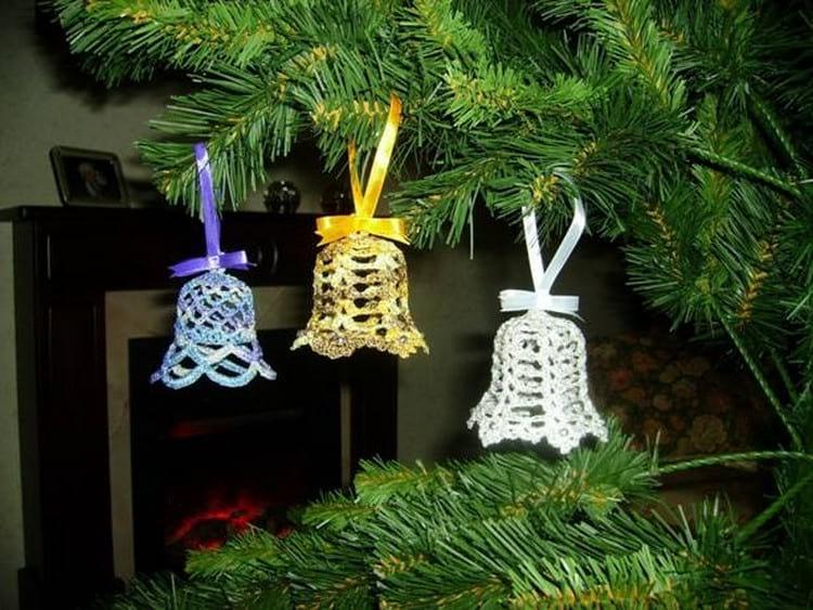 Вязаные новогодние игрушки на елку