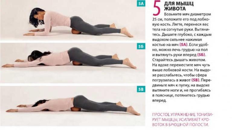 Домашние упражнения для похудения Комплекс упражнений для