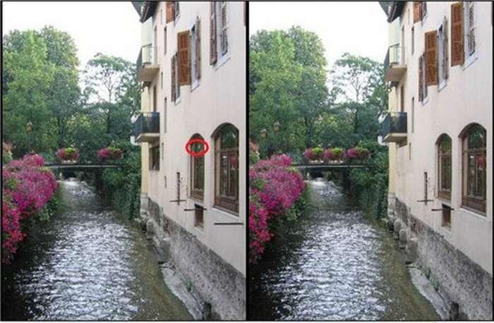 Найдите отличия на двух картинках