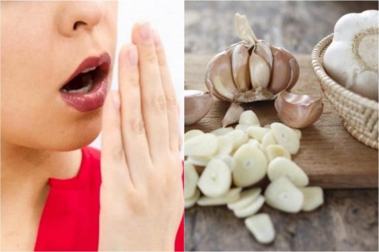 Rfr избавиться от запаха чеснока