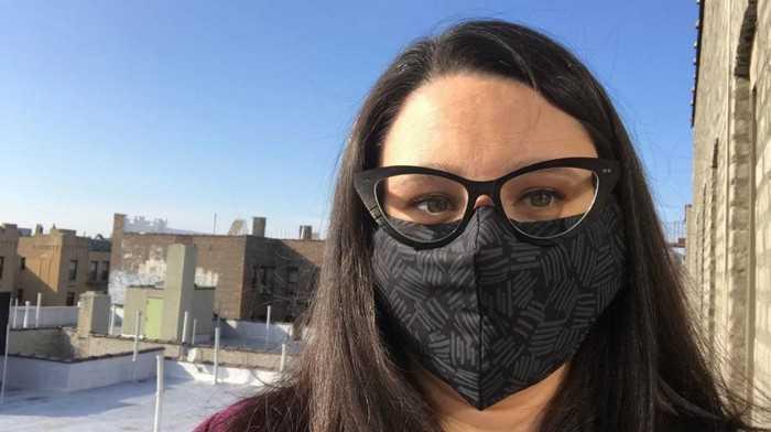 Как носить маску с очками чтобы они не запотели