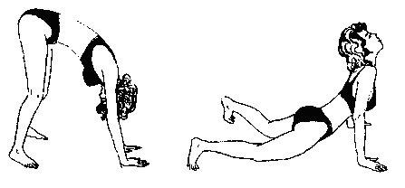 Упражнения для спины Поля Брегга