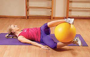 Упражнения на пресс 3 - Опускание ног в сторону