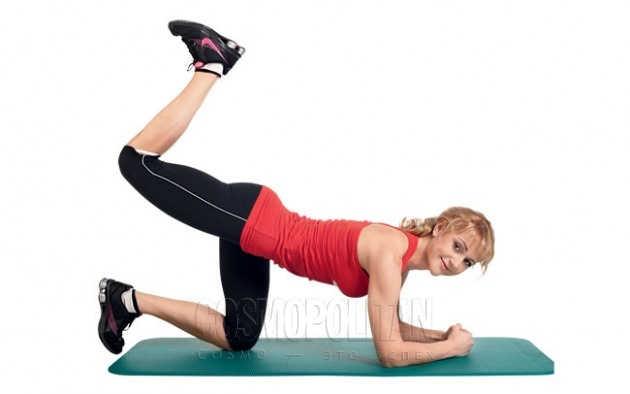 Упражнения для уменьшения бедер - мышцы бедер и ягодиц