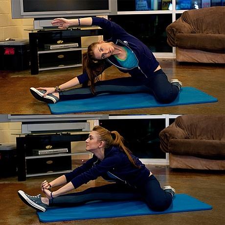 7 Упражнение на растяжку