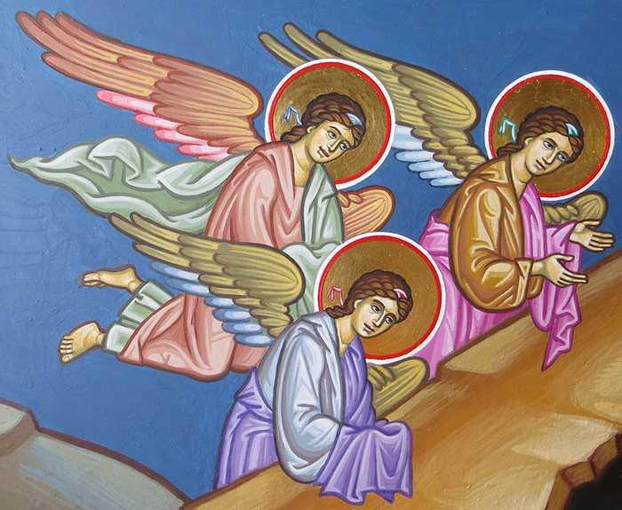 """Молитва-оберег """"Ангел мой, пойдем со мной, ты впереди, я за тобой"""""""
