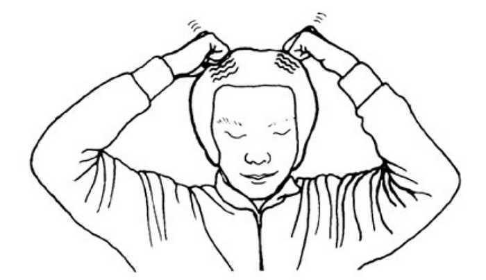 Простукивание головы