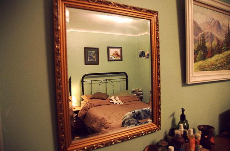Не спите перед зеркалами