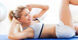 Упражнения для красивого живота