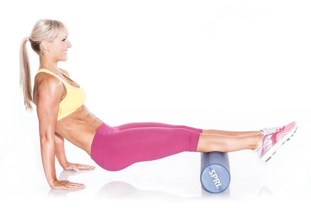 Упражнение 7 упражнения с массажным роликом