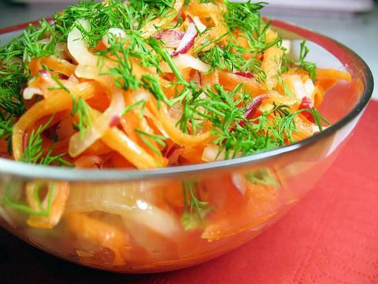 сырой салат