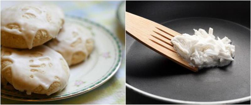 применение кокосового масла для еды