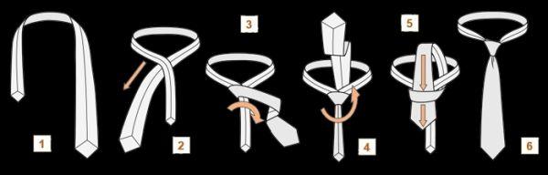 Как завязать мужской галстук: 5 узлов и 10 способов