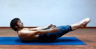 Упражнения йоги для плоского живота