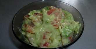 Заправка из авокадо
