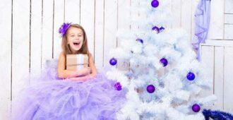 Как сшить новогоднее платье для девочки