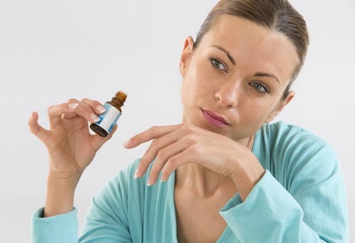 Лечение насморка маслами