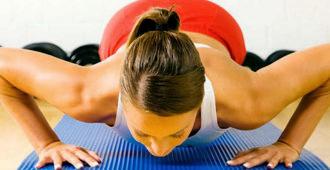 Упражнения для укрепления спины и рук