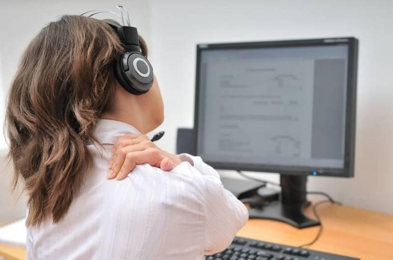 Снять напряжение с мышц спины