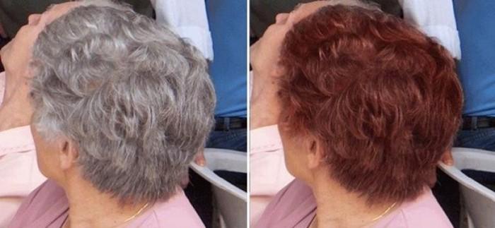 Как покрасить седые волосы в домашних условиях, чтобы выглядеть стильно и молодо