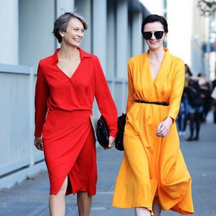 Как одеваться полным женщинам за 40