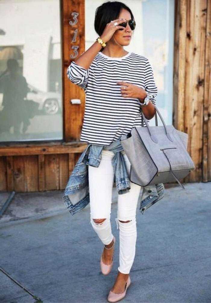 Как подвернуть узкие джинсы