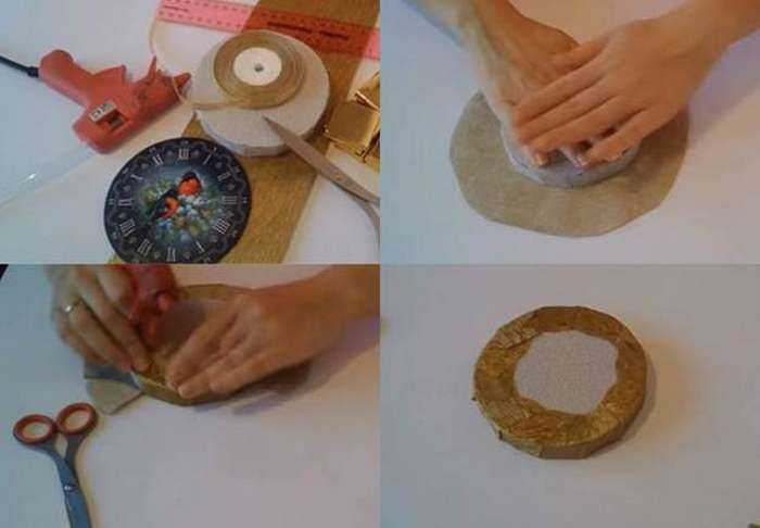 Как сделать часы из конфет