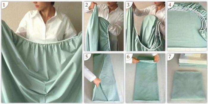 Как пошить простынь на резинке