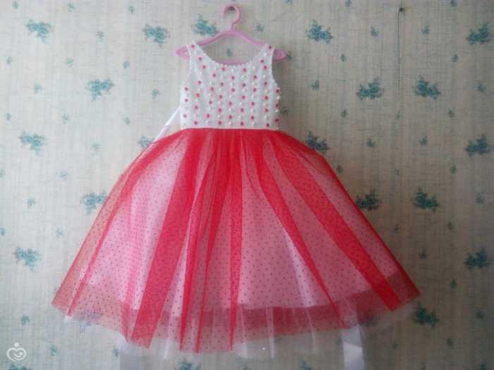 Новогоднее платье для девочки