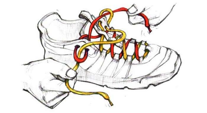 Как завязать кроссовки для бега