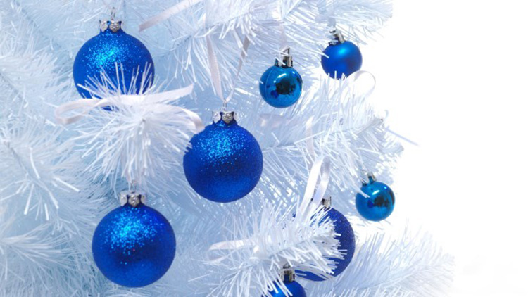 Как стильно нарядить елку на Новый год