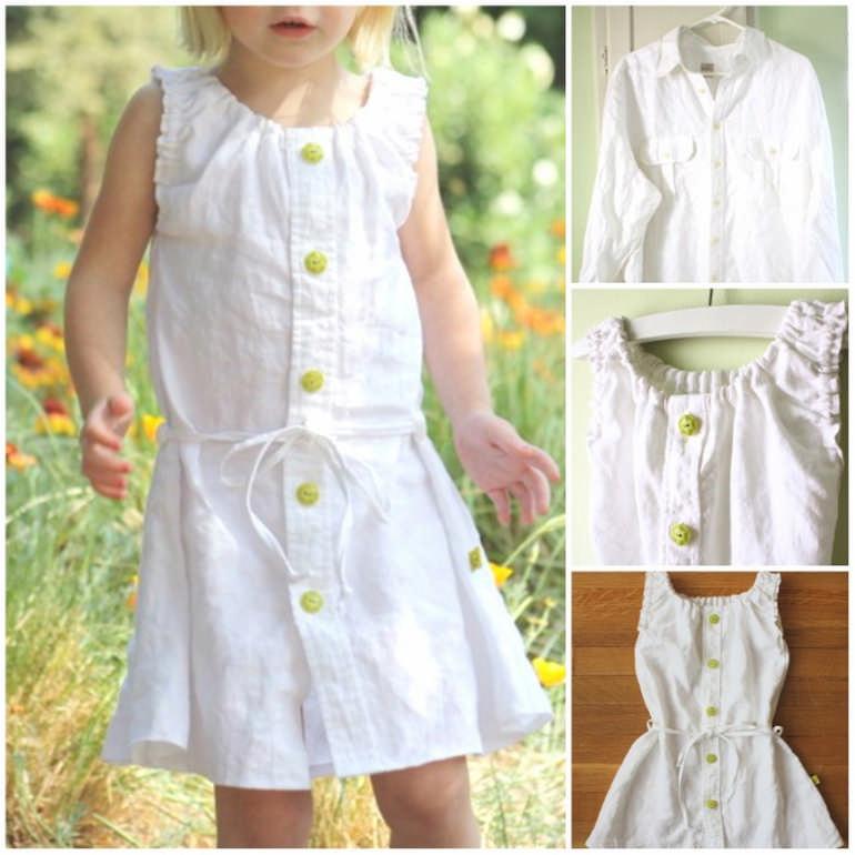 как быстро сшить платье для девочки