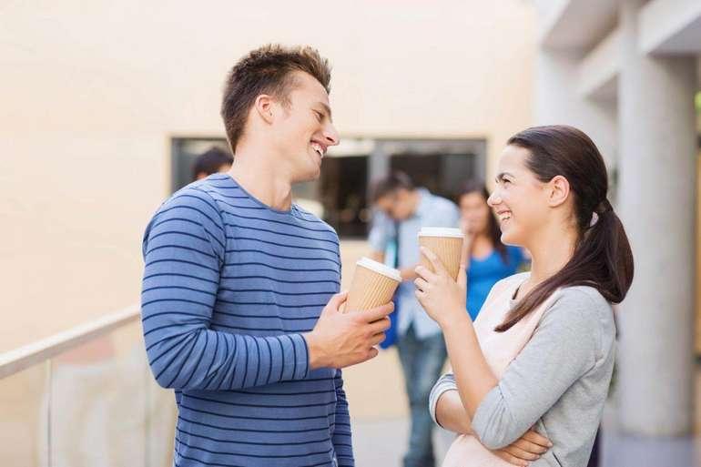 Как начать разговор с человеком