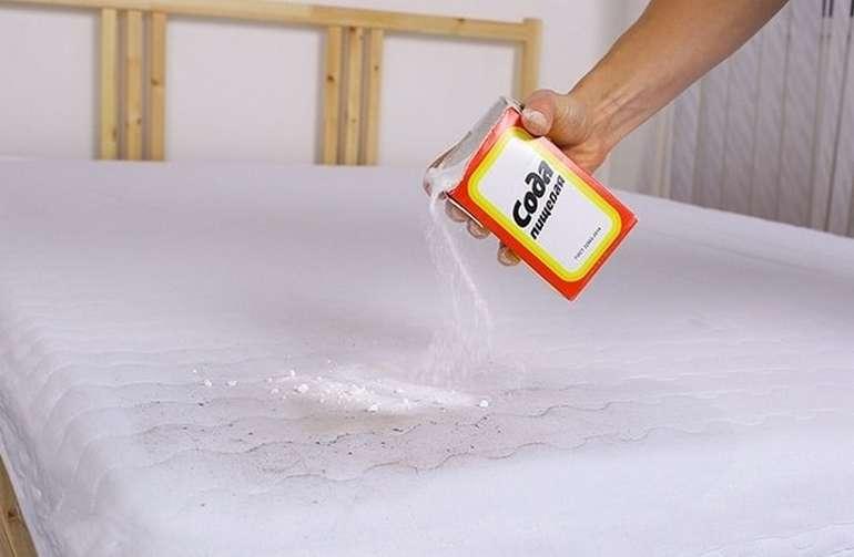 Как самостоятельно почистить матрас от пятен и избавиться от запаха