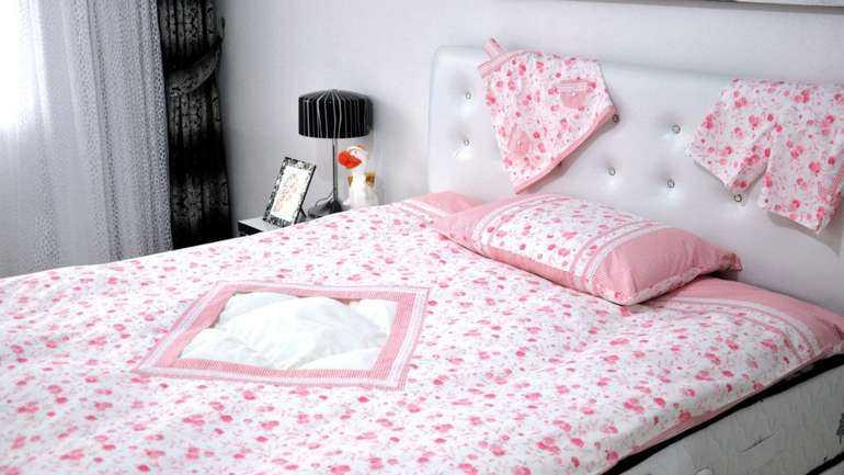 Размеры спальных комплектов